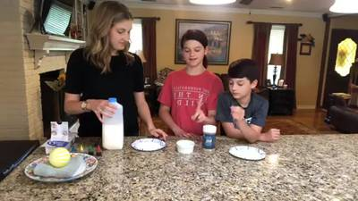 WATCH: Meteorologist Elisabeth D'Amore does an experiment to show us why using soap is so important
