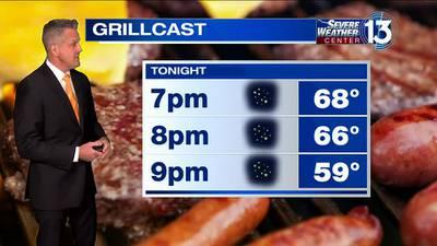 WATCH: FOX13 Monday evening weather forecast