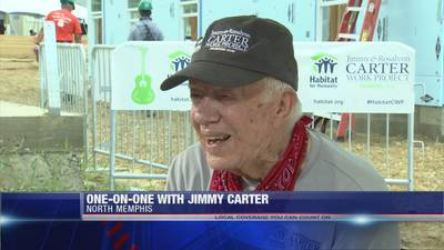 FOX13's one-on-one interview with President Jimmy Carter