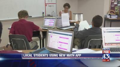 Memphis teacher develops app to help students with math