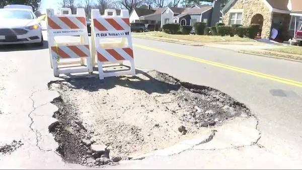 Memphians on pothole patrol following last week's winter weather