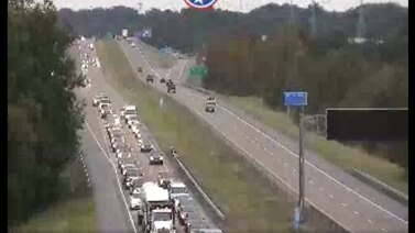 WATCH: Multi-vehicle crash on Route 385, putting 1 in hospital