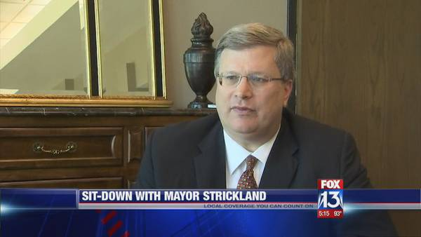 Mayor Jim Strickland discusses Black Lives Matter in sit-down with FOX13
