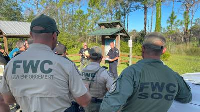 Photos: Authorities search Florida nature reserve for Brian Laundrie, fiance of Gabby Petito
