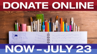 How To Donate To The FOX13 Virtual School Supply Drive