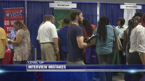 Level Up: Do you know the top mistakes people make during an interview?