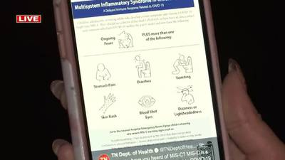 WATCH: Mid-South hospitals see MIS-C cases following COVID surge