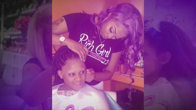 Hairstylist provides free wigs during COVID-19 for girls with hair loss