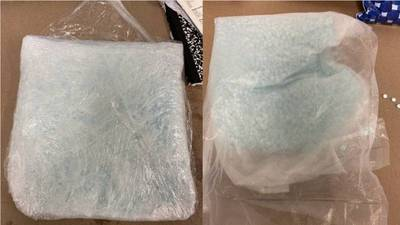 Man arrested after returning to hotel to retrieve bag containing 15,000 fentanyl pills