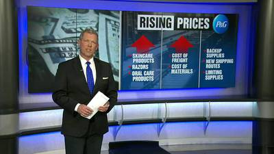 WATCH: The prices of household staples are going up