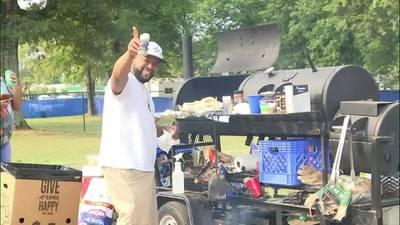 WATCH: Hundreds return for tailgating ahead of Southern Heritage Classic in Memphis
